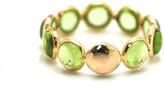 Tresor Collection - Peridot Stackable Ring Band in 18K Yellow Gold