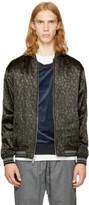 3.1 Phillip Lim Reversible Black Leopard Souvenir Jacket