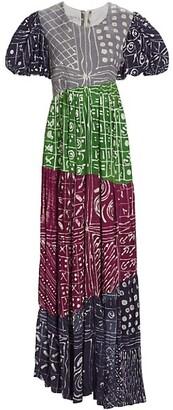 Busayo Bola Printed Maxi Dress