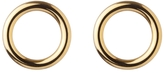 Jennifer Fisher Smooth Circle Earrings - Yellow Gold