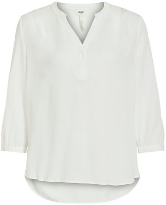 Object Baya Blouse - 34 | white - White/Black/Khaki