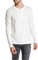 Kenneth Cole New York Long Sleeve Jersey Henley Shirt
