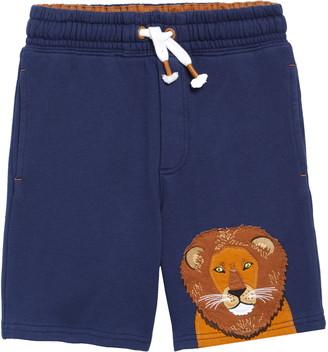 Boden Applique Sweat Shorts