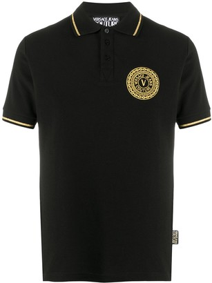 Versace Jeans Couture Logo Cotton Polo Shirt