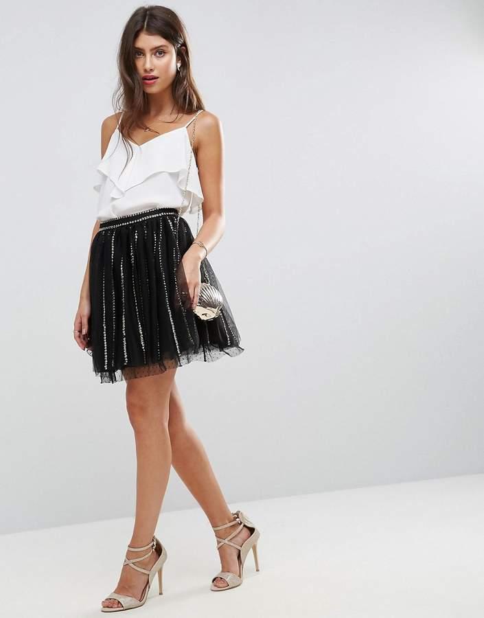 a178af7cd1 Tulle Mini Skirt - ShopStyle