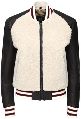 Belstaff Leather & Shearling Connie Jacket
