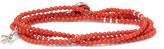 Isaia Saracino Coral Silver Wrap Bracelet