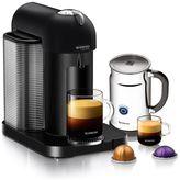 Nespresso VertuoLine Coffee and Espresso Maker Bundle in Matte Black