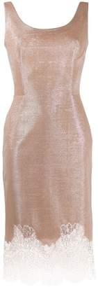 Ermanno Scervino lace-embroidered midi dress