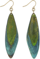 Sam Edelman Patina Leaf Drop Earring