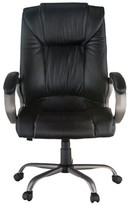 Genuine Leather Executive Chair Harwick Furniture