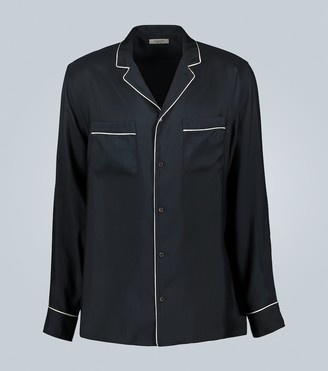 Valentino Silk shirt with piping