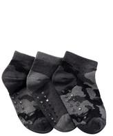 Joe Fresh Ankle Socks - Pack of 3 (Toddler Boys)