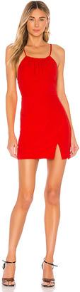 superdown Missy Ruched Mini Dress