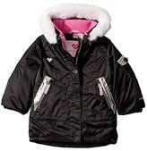 Obermeyer Sparkle-Girl Jacket (Toddler/Little Kids/Big Kids) (Black) Girl's Clothing