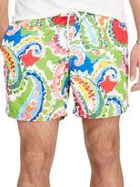 Polo Ralph Lauren Paisley Traveler Swim Trunks