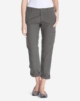 Eddie Bauer Women's Adventurer® Stretch Ripstop Crop Cargo Pants - Slightly Curvy