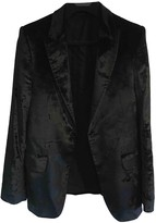 Alexander McQueen Black Velvet Jackets