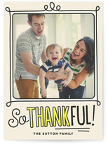 Minted Highlighted Handwriting Thanksgiving Cards