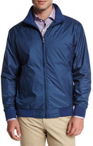 Peter Millar Austin Zip-Up Jacket, Dark Blue