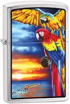 Zippo Parrot Outdoor Indoor Windproof Lighter Free Custom Personalized Engraved Message Permanent Lifetime Engraving on Backside