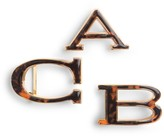 C. Wonder Tortoise Letter Belt Buckle