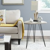 Safavieh Home Collection Wolcott Grey and Black Side Table