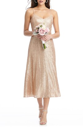 Dessy Collection Elle Sequin Cocktail Dress