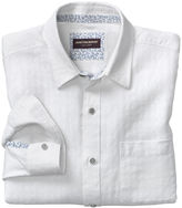 Johnston & Murphy Tonal Square Washed Linen Shirt