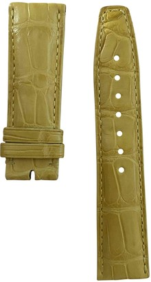 IWC Yellow Alligator Watches