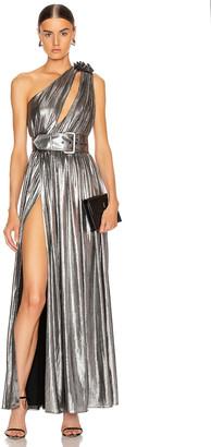 retrofete Andrea Maxi Dress in Gunmetal | FWRD