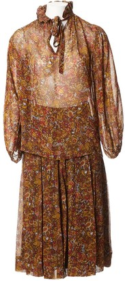 Jean Louis Scherrer Jean-louis Scherrer Multicolour Polyester Dresses