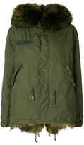 As65 hooded army parka