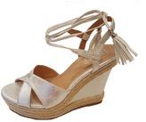 Refresh Silver Tassel Beverly Wedge Sandal