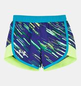 Under Armour Girls' Pre-School UA Lumos Fast Lane Shorts