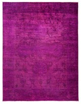 "Solo Rugs Vibrance Collection Oriental Rug, 9'1"" x 11'10"""