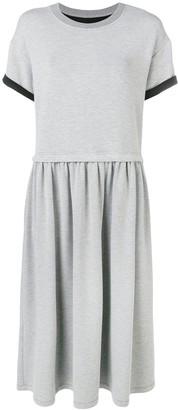 MM6 MAISON MARGIELA short-sleeve flared dress