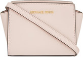 MICHAEL Michael Kors Selma mini Saffiano leather messenger bag