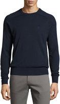 Original Penguin Long-Sleeve Crewneck Sweater, Blue