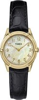 Timex Women's Quartz Watch with Mother Of Pearl Dial Analogue Display and Silver Stainless Steel Bracelet TW2P76000