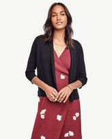 Ann Taylor Petite Open Front Cardigan