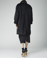 Organic by John Patrick teddy fur coat