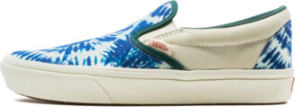 Vans ComfyCush Slip-On Tie-Dye Shoes - 5