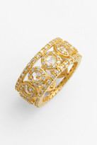 Freida Rothman 14K Gold Plated Sterling Silver Kaleidoscope Ring
