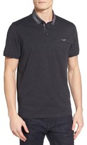 Ted Baker Men's Unser Woven Collar Polo