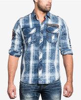Affliction Men's Strong Instinct Woven Shirt