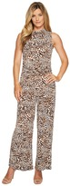 MICHAEL Michael Kors Sleeveless Mock Neck Jumpsuit Women's Jumpsuit & Rompers One Piece