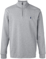 Polo Ralph Lauren zipped collar sweatshirt - men - Cotton - M