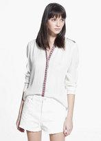 Mango Outlet Cotton-Blend Shorts