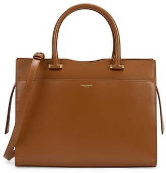 Saint Laurent Uptown Leather Satchel